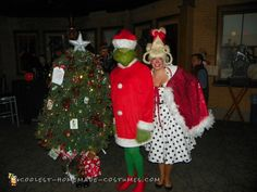 """Christmas "", the Grinch, and Cindy Lou-Who"