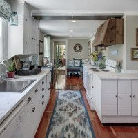 Kitchen space designed for the 2015 North Fork Designer Showhouse
