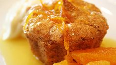 Pistachio semolina cake (ravani) - so easy, so delicious. Clam Cakes, Semolina Cake, Orange Syrup, Greek Sweets, Sbs Food, Light Cakes, Pistachio Cake, Eastern Cuisine, Middle Eastern Recipes