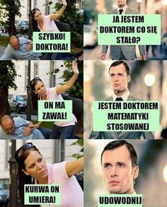 gdzie nabijanie się ze wzrostu starka jest na porządku dziennym, loki… #humor # Humor # amreading # books # wattpad Funny Images, Funny Photos, Haha Funny, Hilarious, Polish Memes, Weekend Humor, Funny Mems, Quality Memes, Science Humor