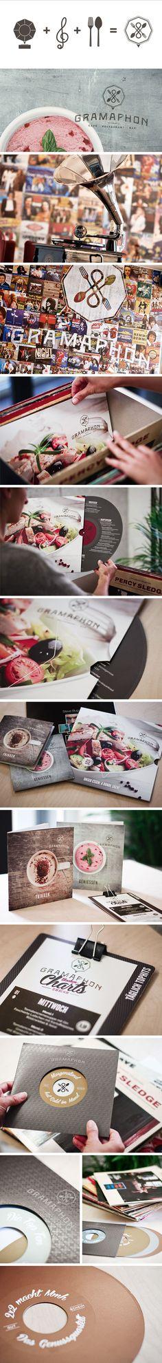 Kunde: Gramaphon, Branding, Grafikdesign - Werbeagentur Fredmansky