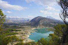 Embalse del Amadorio, Valencia, Spain