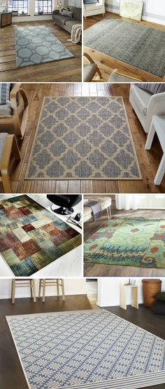 Cool rugs for living room My Living Room, Home And Living, Living Room Decor, Bedroom Decor, Living Spaces, Dining Room, Architecture Design, Flat Ideas, Interior Decorating