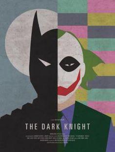 The Dark Knight Movie Poster by Brandon Schaefer.