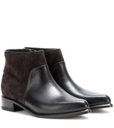 Rag and Bone Rag & Bone Aston leather and suede ankle boots on shopstyle.com