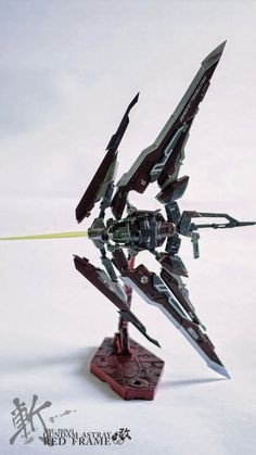 MG 1/100 Gundam Astray Red frame Kai - Custom Build - Gundam Kits Collection News and Reviews