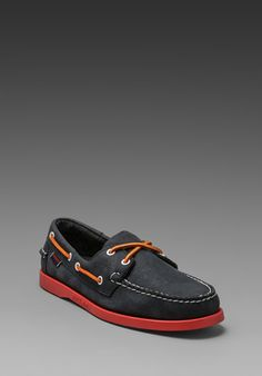Sebago -> Docksides in Navy/Red Outsole #Guys #Gentleman #Summer #MenClothing #Style #MenFashion #BestOutfits http://www.revolveclothing.com/DisplayProduct.jsp?product=SEBA-MZ36=Colored+Soles=T=b
