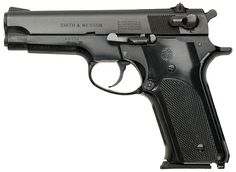 My second choice for handguns would be any of the Smith & Wesson Model 59 series of 9mms. Again, common ammo, huge supply of magazines, and easy to use. Just remember; the 59 and its successors have a slide-mounted safety. Don't get caught with your lever down, when the undead come out to play/