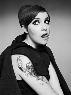 Lena Dunham photographed by Jessica Haye and Clark Hsiao