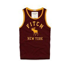 Cheap Abercrombie & Fitch Cotton Vest Mens AFC1076  http://abercrombie-sale.net/