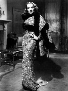 Travis Benton dress for Marlene Dietrich in Angel 1937