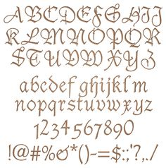 890 Best Fancy Alphabets Images Calligraphy Typography Fonts