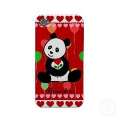Very cute Panda Cartoon iphone case. :)