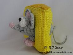 Amigurumi Crochet Pattern - Manfred the Mouse !!!This listing is for a crochet pattern and not a finished item!!! Manfred the Mouse: The pattern is very detailed and contains a lot of pictures. This is an instant digital download PDF pattern (ready to download immediatelly after the