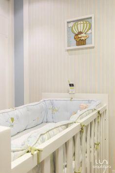 Quarto de bebê projetado por nosso escritório Luni Arquitetura http://www.luniarquitetura.com.br