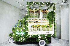フェンディが巨大ポップアップショップ「フェンディ 銀座店」内に期間限定のフラワーショップ「FENDI FLOWER SHOP by AZUMAMAKOTO」をオープン