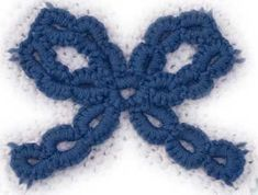 Learn how to make a Crotat (Crochet Tatting) string.