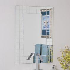 Picture Collection Website Shop Decor Wonderland Mischa in H x in W Rectangular Frameless Bathroom
