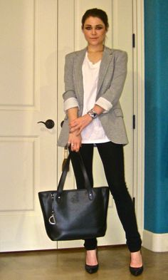 Work Wear clothes - pair of nice slim fit black trousers, black skirt and a pari of black flat shoes