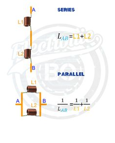 Inductor in Series and Parallel. Voltage Divider, Electronic Engineering, Electronics Projects, Computer Science, Abs, Teaching, Bluetooth, Electric Circuit, Blue Tooth