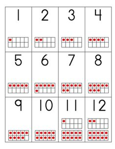 ... ten frames. There are 10 sets of cards 0-20. Each set has different