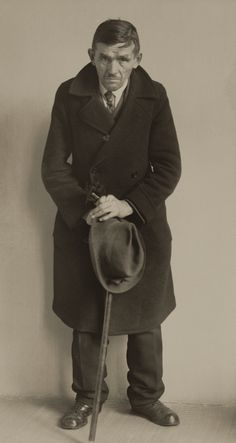 Down-on-his-luck Man -- Photo by August Sander, 1930