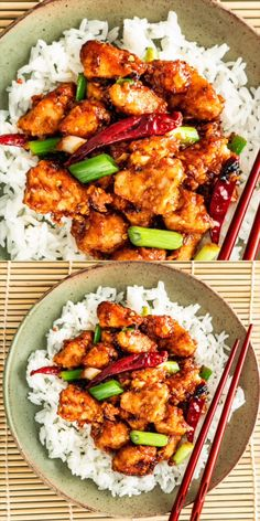 This easy Mongolian Chicken is ready in only 30 minutes, so skip the take-out and enjoy this delicious crispy chicken with a sweet and savory sauce right at home. Quick, simple, utterly delicious and every bite is packed with tons of flavor. Easy Pasta Recipes, Easy Dinner Recipes, Easy Meals, Cooking Recipes, Recipe Pasta, Simple Food Recipes, Wok Recipes, Cooking Eggs, Cooking Pumpkin