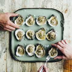#FFFSW Recipe: Smoked Oysters with Jalapeño Lemon Butter