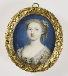 The Royal Collection: Princess Louisa (1724-1751) daughter of King George II and Queen Caroline