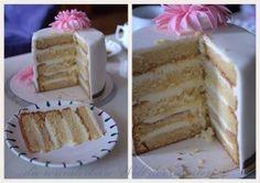 2013-09-17 Mascarpone Creme, Vanilla Cake, Desserts, Food, Pies, Tailgate Desserts, Deserts, Essen, Postres