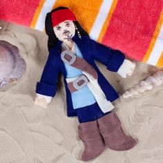 Jack Sparrow Voodoo Doll (gotta love Spoonful's tutorials for Disney-themed projects that are simple and inexpensive)