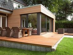 Anbau in Hamburg – Flottbek - New Ideas House Extension Design, Roof Extension, House Design, Extension Ideas, Bungalow Extensions, House Extensions, Future House, My House, Future City