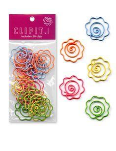 Flower Paper Clips