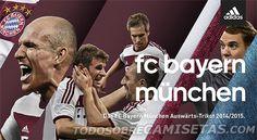 ANTICIPO: Bayern Munich Adidas Away Kit 2014/2015artículo de ANTICIPO: Bayern Munich Adidas Away Kit 2014/2015
