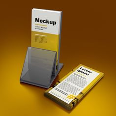 Mockup – DL Leaflet – 99×210 mm