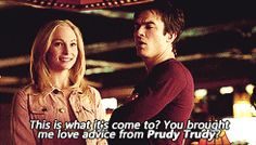 #TVD The Vampire Diaries Caroline & Damon xD