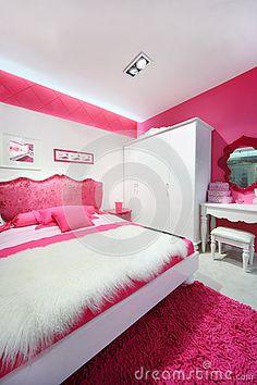 les chambres modernes toutes blanches belle chambre coucher rose blanche avec - Belle Chambre Moderne