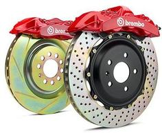 Brembo Mercedes Brake Kits | Mercedes CLS63 AMG (C218)/ E63 AMG (W212) Front 6-piston 405x34 2-Piece Big Brake Gran Turismo Kit by Brembo