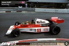 Adesivo James Hunt McLaren M23 Monaco 1976 F1 Formula 1 Sticker