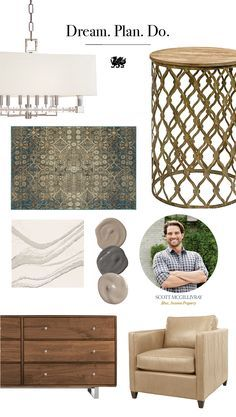 Want to make the most of your next home makeover project? TV star, Scott McGillivray's shared some advice: Dream big. Start with a mood board for inspiration, and then build on the basics of your vision.