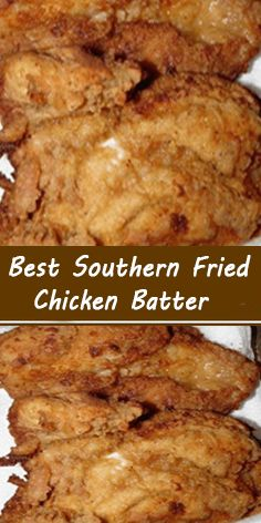Ingredients 2 beaten egg 1 cup milk 2 teaspoon paprika teaspoon poultry seasoning 4 teaspoons garlic salt 2 teaspoon black pepper 2 cup all-purpose flour Fried Chicken Batter, Fried Chicken Recipes, Entree Recipes, Cooking Recipes, Great Recipes, Favorite Recipes, Batter Recipe, Food Dishes, Main Dishes