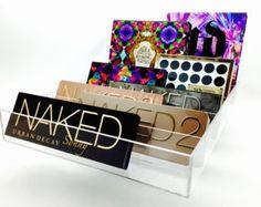 Acrylic makeup Eyeshadow Organizer Alex 72 Ikea by SonnyCosmetics