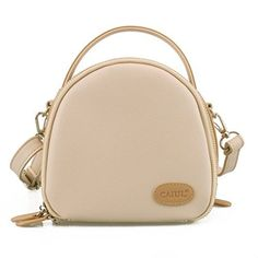 CaiulBasic Fujifilm Instax Mini Case CaiulBasic First Generation Zipper Universal Carry Case Bag , Beige