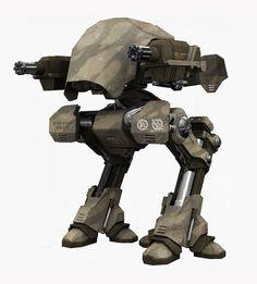 Shronbell M7 Titan Walker concept.