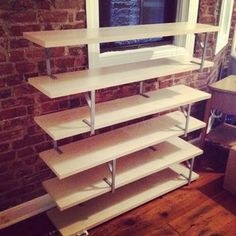 Hack an Ikea bookshelf if you don't want to cover up your walls with bulky furniture. | 34 Small Things You Can Do To Make Your Home Look So Much Better
