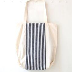 Penh Lenh Tote | Navy Stripe