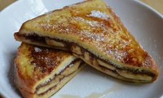 T's Nutella Mascarpone Banana Sandwiches Recipe - Yummy this dish is very delicous. Let's make T's Nutella Mascarpone Banana Sandwiches in your home!