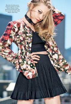 amanda ben watts2 Amanda Seyfried Poses for Ben Watts in Glamour Paris Shoot