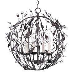 Found it at Joss & Main - Karina  4 Light Crystal Globe Pendant