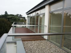 Penthouse balcony Hereford